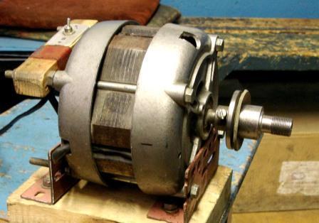 Электродвигатель для самодельного станка